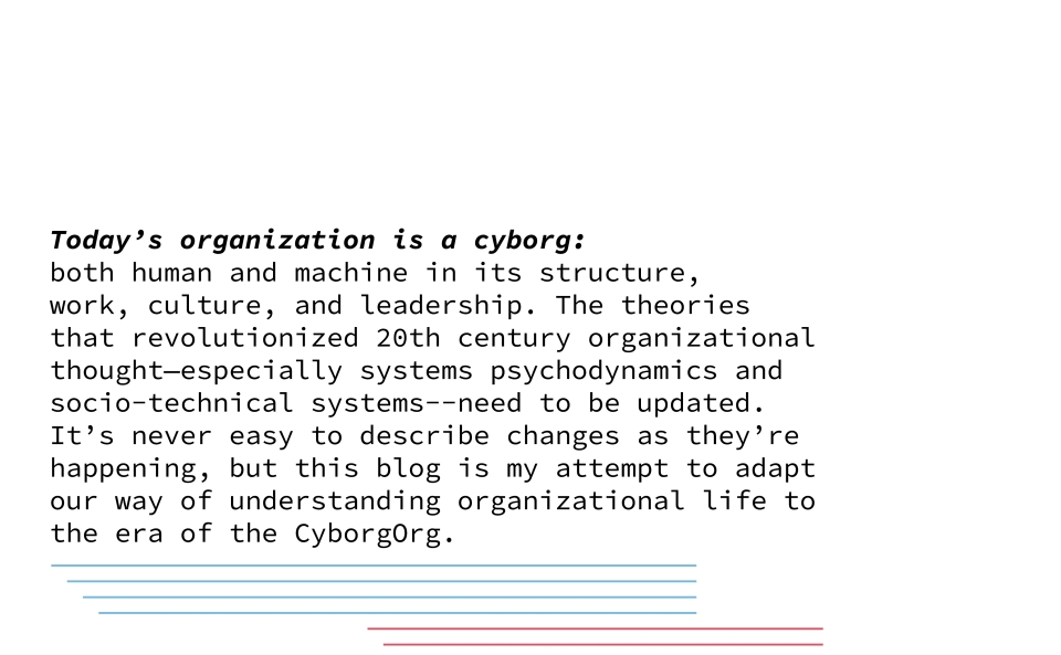 CyborgOrg: Introduction